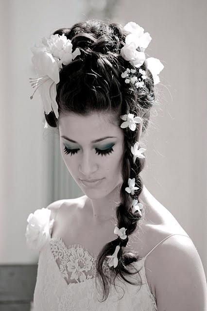 Fabulous Nerine39S Blog Lindsayfunke 39S Black Wedding Lindsayfunke Our Short Hairstyles Gunalazisus
