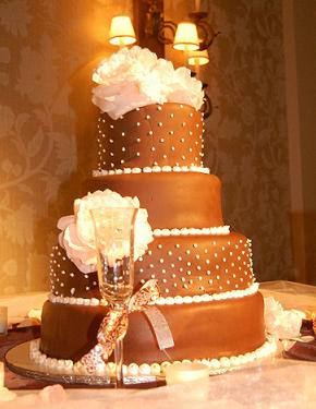 Attractive Fall Cupcake Wedding Cakes
