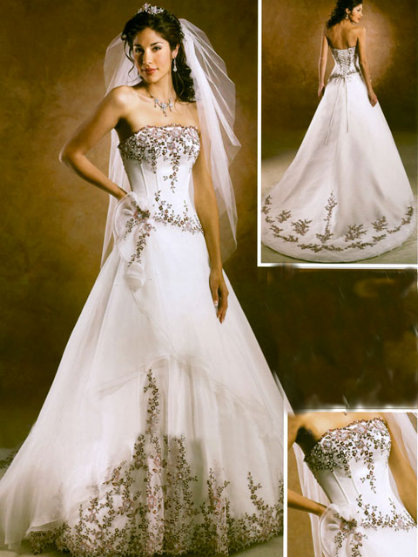 Bridal Gowns For    : Wedding gowns of weddings and tiaras