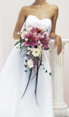 wedding flowers of weddings and tiaras
